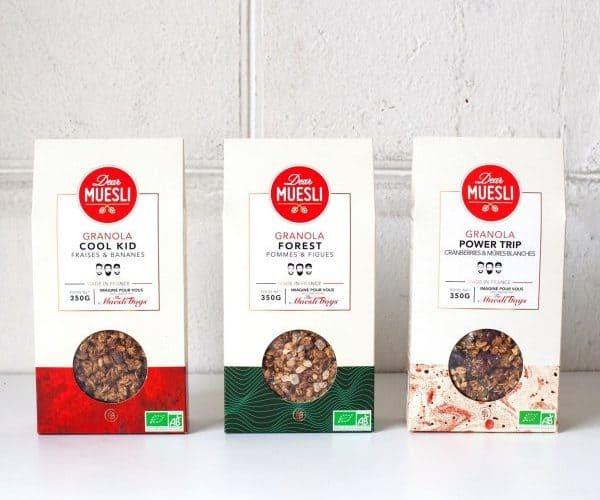 Dear Muesli un petit déjeuner sain sans sucre présenté sur supernutrition