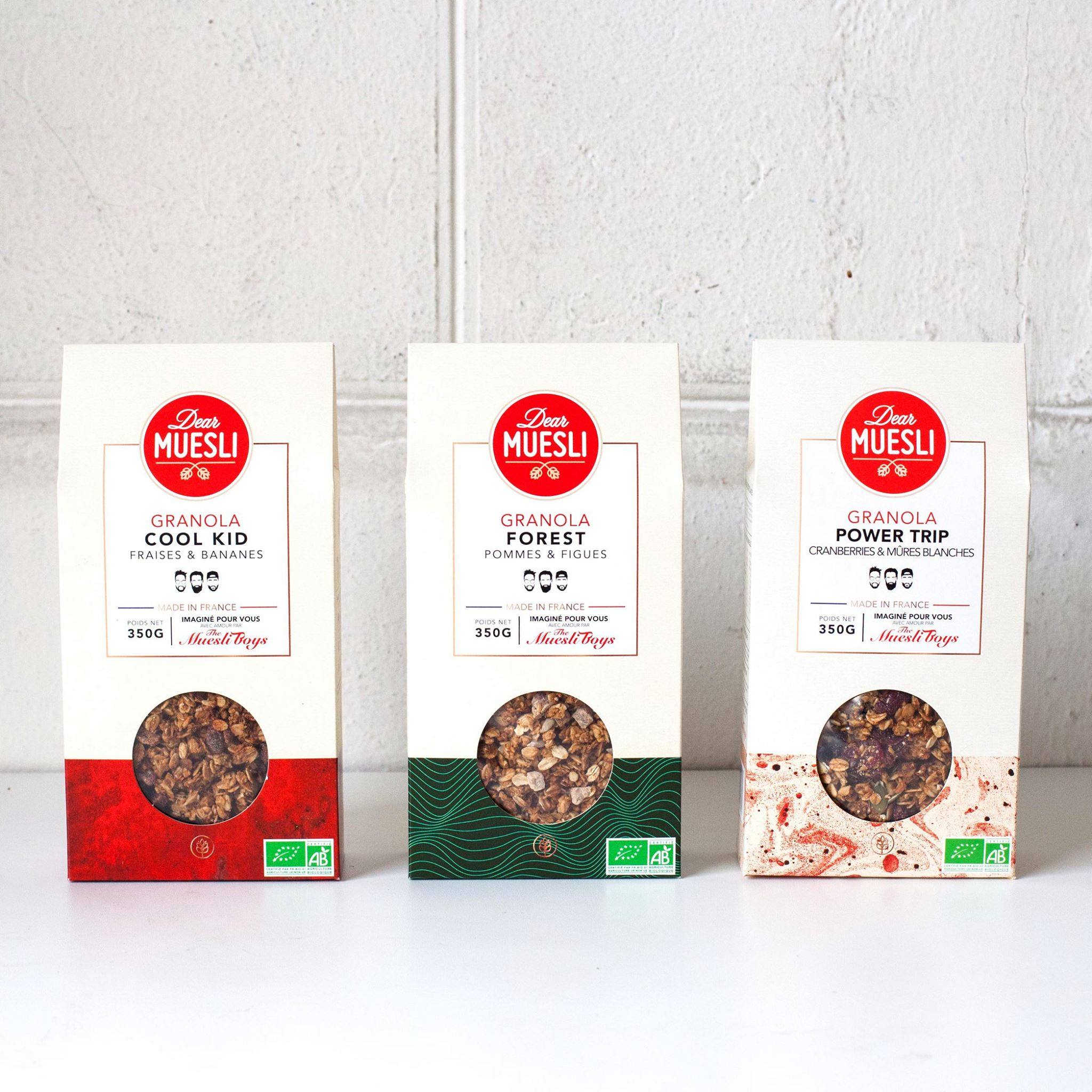 Dear Muesli un petit déjeuner sain sans sucre présenté sur supernutrition