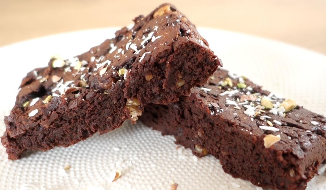 Recette brownie sans gluten et sans sucre à l'avocat